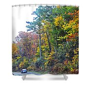 The Drive To See Grandfather Shower Curtain