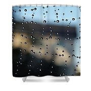 The Droplet Curtain Shower Curtain