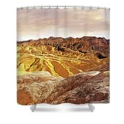 The Dry Lands Shower Curtain