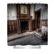 The Duchess Chair  Shower Curtain