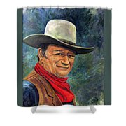 The Duke Shower Curtain