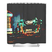 The Dunes Casino Shower Curtain