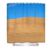 The Dunes Of Maspalomas Shower Curtain