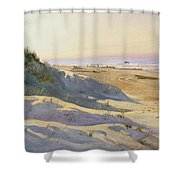 The Dunes Sonderstrand Skagen Shower Curtain by Holgar Drachman