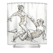 The Duo Shower Curtain