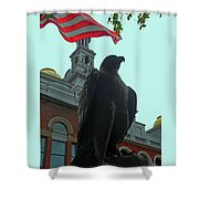 The Eagle 3 Shower Curtain