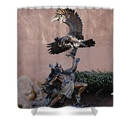The Eagle And The Indian Shower Curtain
