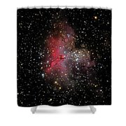 The Eagle Nebula And The Stellar Spire Shower Curtain