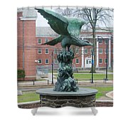 The Eagle - Widener University Shower Curtain