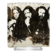 The Eagles Rustic Shower Curtain