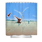 The Ecstasy Shower Curtain