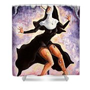 The Ecstasy Of Mother Liberation  Shower Curtain