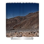 The Edge Of Death Valley Shower Curtain