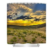The Edge Of Life Shower Curtain