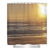 The Edge Of The Earth Shower Curtain