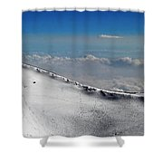 The Edge Of The Sky Shower Curtain