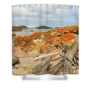 The Edge Of The World 2 Shower Curtain