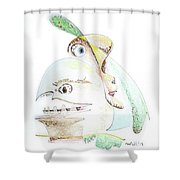 The Egg And I Shower Curtain