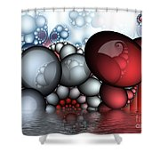 The Egg Family Shower Curtain