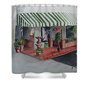 The El Camino Grill Shower Curtain