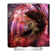 The Elements Wind Shower Curtain