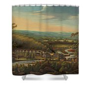 The Eli Whitney Gun Factory Shower Curtain