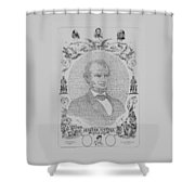 The Emancipation Proclamation Shower Curtain