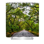 The Emerald Forrest Shower Curtain