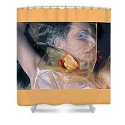 The Emotional Snag - Self Portrait Shower Curtain