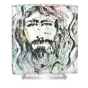 The Emotions Of Jesus Shower Curtain