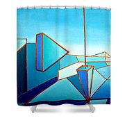 The Emperors Vision 1.0 Shower Curtain