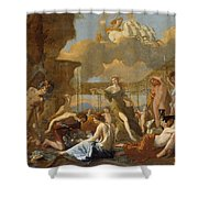 The Empire Of Flora Shower Curtain