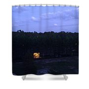 The Empire Of Light, 1 Shower Curtain