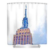 The Empire State Building 1 Shower Curtain