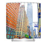 The Empire State Building 3 Shower Curtain