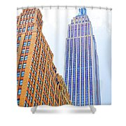 The Empire State Building 4 Shower Curtain