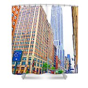 The Empire State Building 5 Shower Curtain