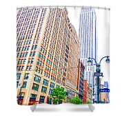 The Empire State Building 6 Shower Curtain