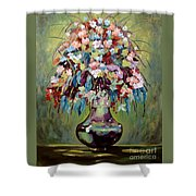 The Empty Vase Shower Curtain