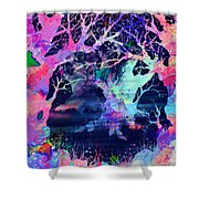 The Enchanted Wood Shower Curtain