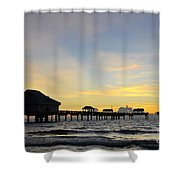 The End Of A Beautiful Day Shower Curtain