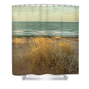 The End Of A Day Shower Curtain
