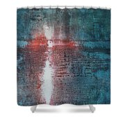The End Of Life The Beginning Of Life Shower Curtain