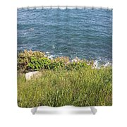 The End Of Long Island Shower Curtain