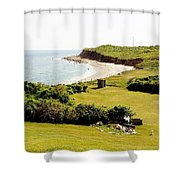 The End Of Long Island South Shower Curtain