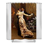 The End Of The Ball Shower Curtain