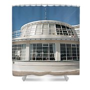 The End Of The Pier Shower Curtain