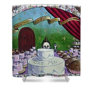 The Endless Deliciousness Of Life Amazes Me Shower Curtain