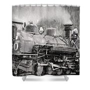 The Engineers Mistress Shower Curtain