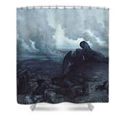 The Enigma Shower Curtain